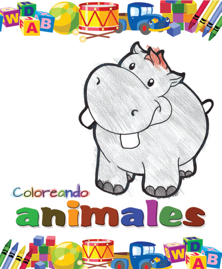 Coloreando animales - Ediciones Maan - Coloreando
