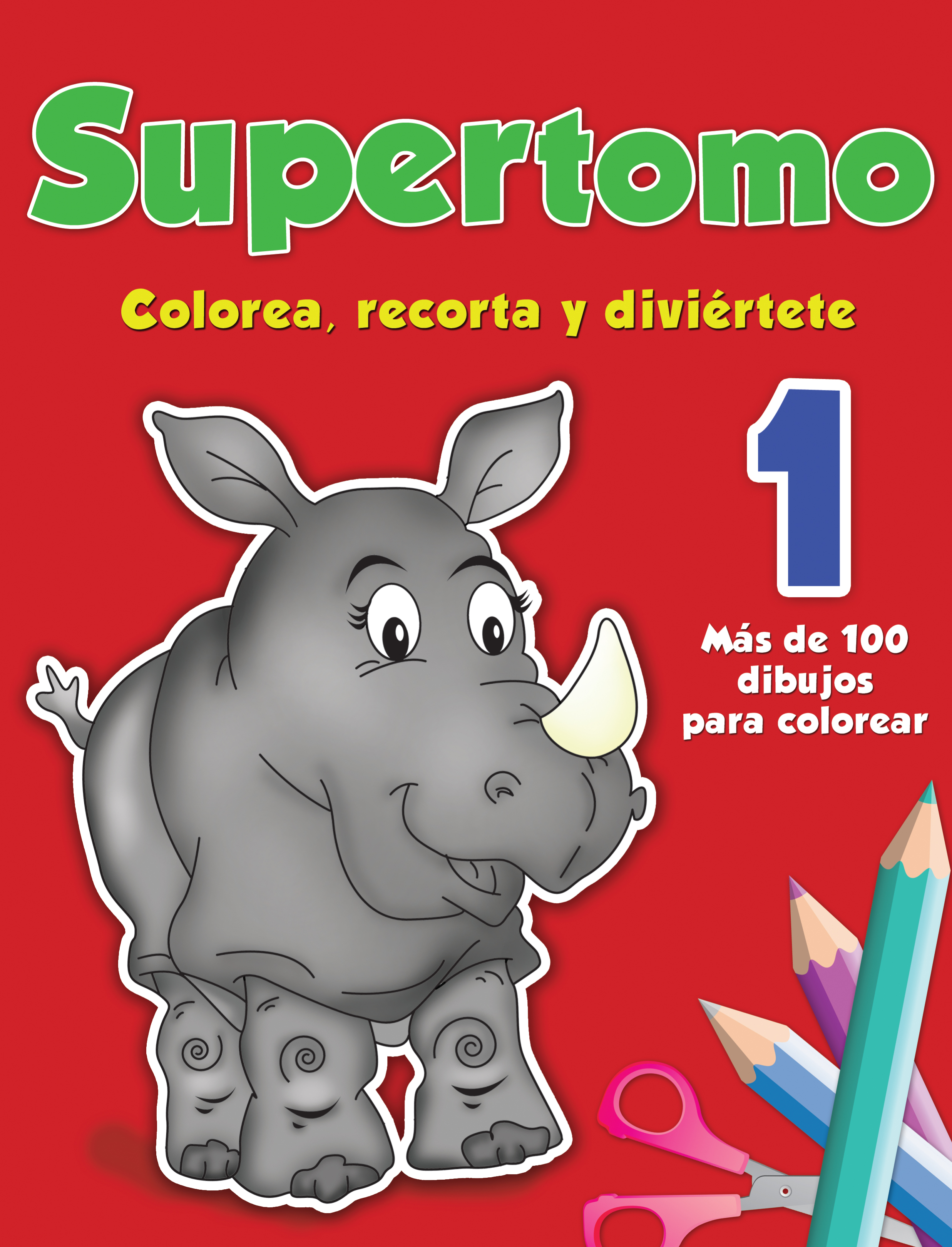 Supertomo 1. Colorea, recorta y diviértete