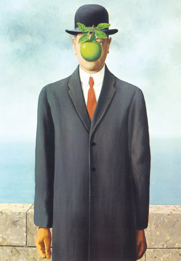 The man of son. René Magritte